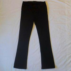 Rock & Republic Kasandra Black Stretch Denim Jeans